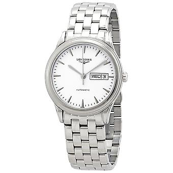 Longines Flagship Automatic White Dial Men's Watch L48994126