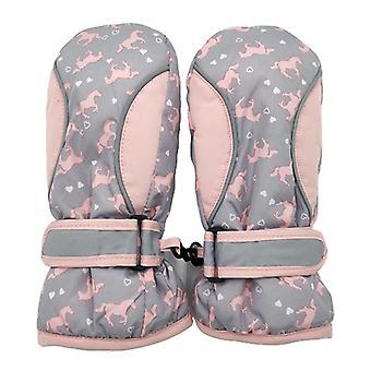 Лыжные перчатки, Зимние теплые водонепроницаемые снежные перчатки