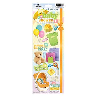 Paper House Productions - Cardstock Stickers - Baby Shower