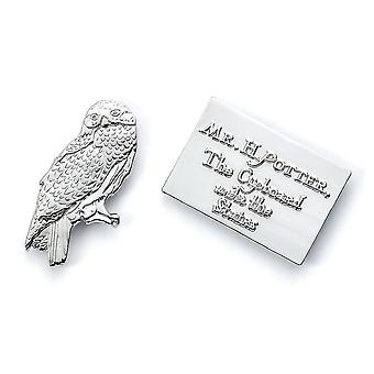 Harry Potter Letter Hedwig Badge Set (Pack de 2)
