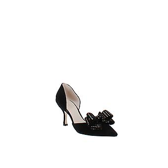 Kate Spade | Sterling Studded Bow Pointed-Toe Pompen