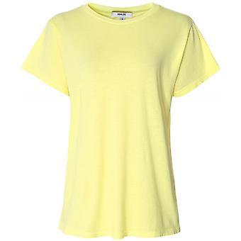 T-shirt z bawełny AGOLDE Rena