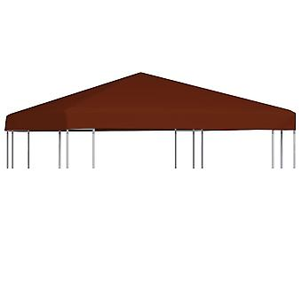 vidaXL pavilion roof 310 g / m2 3x3 m terracotta