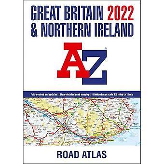 Great Britain AZ Road Atlas 2022 A3 Broché