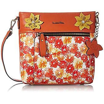 Laura Vita 4234, Shoulder strap, Bag with Handle. Woman, Color: Orange, Medium