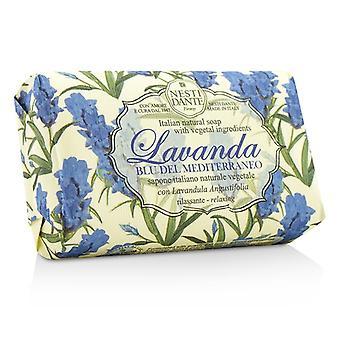 Nesti Dante Lavanda Natural Soap - Blu Del Mediterraneo - Relaxing 150g/5.29oz