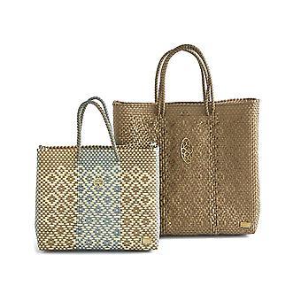 Średnio złota torba na zakupy
