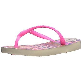 Havaianas Kids' Slim mode Sandal Beige/Pink