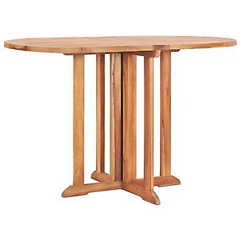 vidaXL 5 pezzi. Garden Dining Group Pieghevole Teak in legno massello