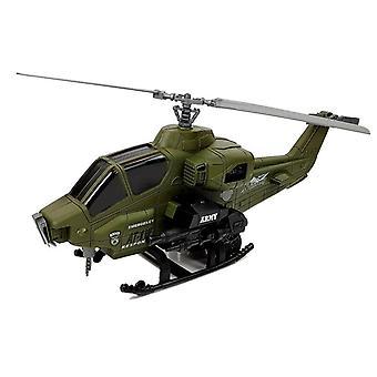 Militaire helikopter speelset met piloot & helm