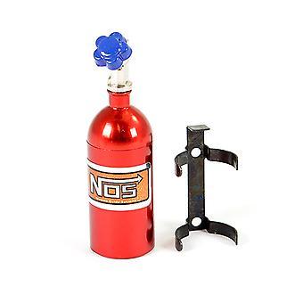 Fastrax Aluminium Nos Nitrous Flaske & Montering - Rød
