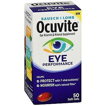 Bausch And Lomb Bausch + Lomb Ocuvite Eye Performance Soft Gels, 50 Softgels