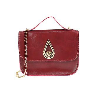 Plain Square Bag With Top Handle