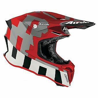 Airoh Twist 2.0 Frame Motocross & ATV Helmet Red/Matt