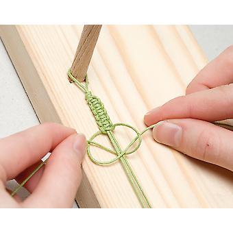 20m Paars gewaxt katoen 1mm String voor Threading Crafts | Snoer en elastisch
