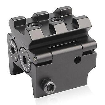 Mini Red Dot Laser Sight Navigation 20mm Rail Mount Gewehr Pistole Gun Jagd