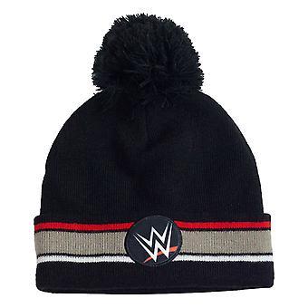 Officiella barn WWE Logo Pom Beanie Boys Girls Hat