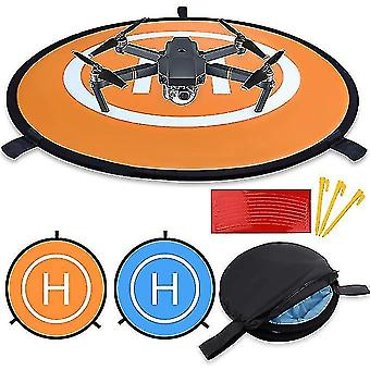 Fast Fold Double Sided Quadcopter Landing Pads For Rc Drones Helicopter(110CM)