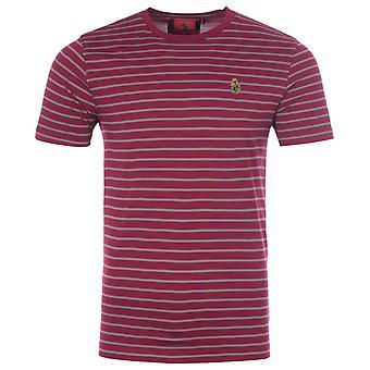 Luke 1977 Faststripe Crew Neck T-Shirt - Shiraz