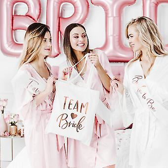 Hen Party Tote Bag / Rose Gold Team Bride/ Bridal Shower
