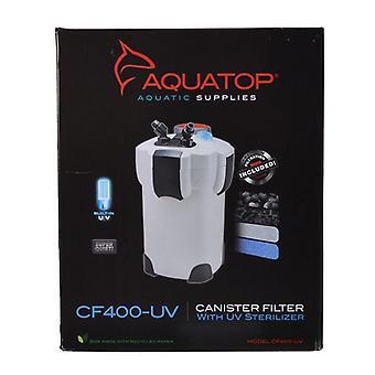 Aquatop UV Canister Filter CF Series - CF400-UV - 9 Watts - 370 GPH