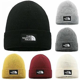 The North Face Mens Ladies Knitted Woolly Winter Slouch Beanie Hat Cap One Size Skateboard