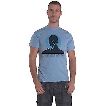 Imagine Dragons T Shirt Follow You Band Logo new Official Mens Blue