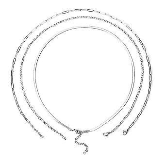 TJC Kettenkette für Damen aus Edelstahl