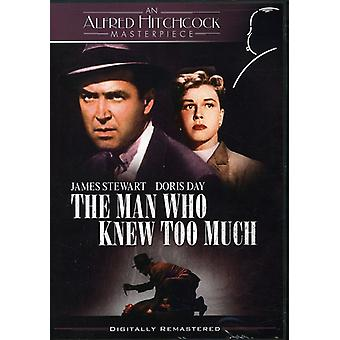 Man Who Knew Too Much [DVD] USA import