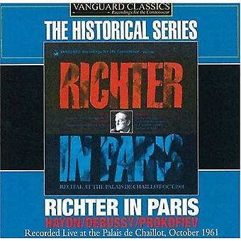 Sviatoslav Richter - Richter in Paris [CD] USA import
