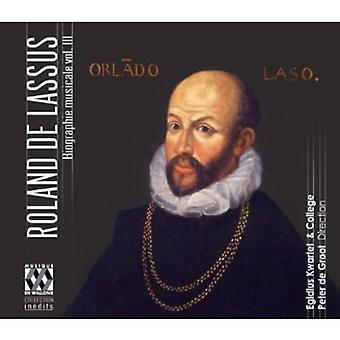 Lassus - Roland De Lassus Biographie Musicale Vol. III [DVD] USA importere