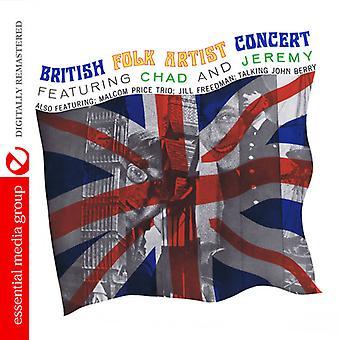 Diverse Artist - Britse Folk Artist Concert [CD] USA importeren