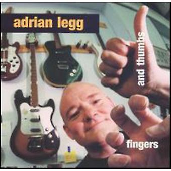 Adrian Legg - fingrar & tummen [CD] USA import