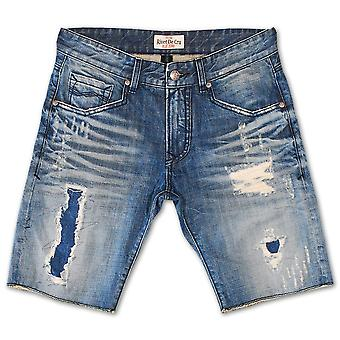 Klinke De Cru Polar blå dongeri Shorts