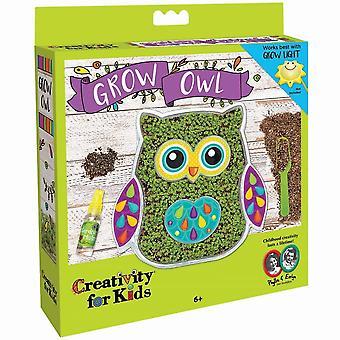 Kreativitet for børn vokse din egen ugle sættet