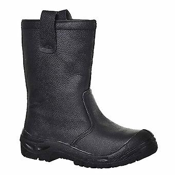sUw - Steelite Rigger Workwear Ankle Safety Boot Scuff Cap S3 CI