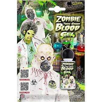 Halloween y terror verde tóxico Zombie sangre 28 mL