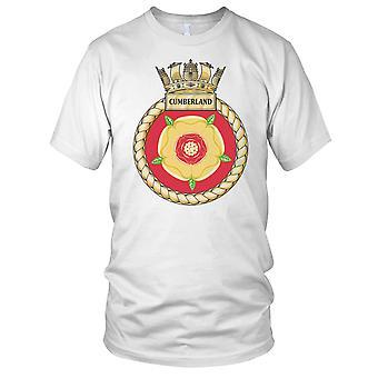 Royal Navy HMS Cumberland Kids T-Shirt
