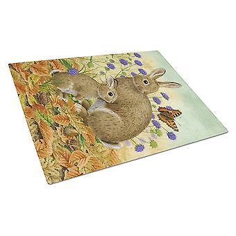 Carolines skatter ASA2132LCB kanin & Baby glas skärbräda stor