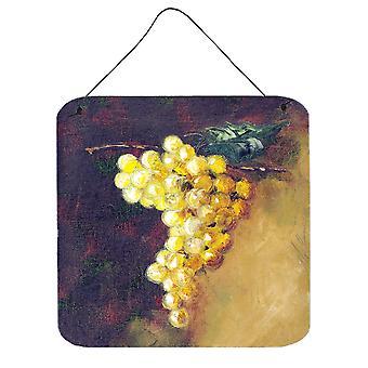 Nieuwe witte druiven door Malenda truc muur of deur hangen Prints