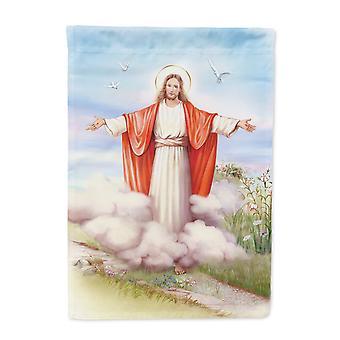 """كارولين الكنوز APH3420GF عيد الفصح يسوع هو """"ارتفع حجم حديقة العلم"""""""