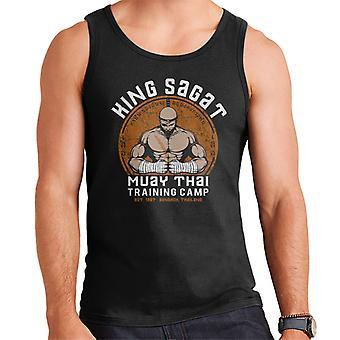 Street Fighter King Sagat Muay Thai Training Camp Men's Vest