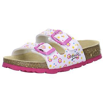 Superfit Girls Tecno 111-51 Sandals White Pink