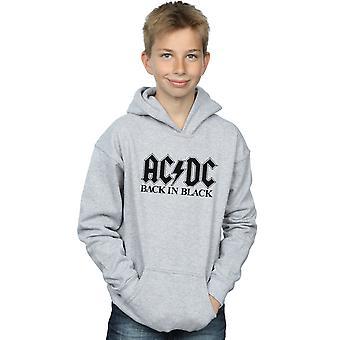 AC/DC Boys Back in Black Logo Hoodie