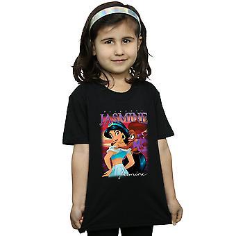 Disney девочек Алладин Принцесса Жасмин монтаж футболку