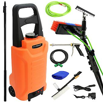 MAXBLAST 30L Water Trolley & Water Fed Cleaning Pole