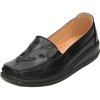 Cushion-Walk Cushioned Flexible Comfort Slip On Loafer Shoes