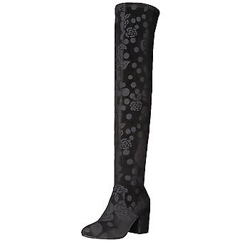 LFL by Lust for Life Womens andie60 Fabric Almond Toe Over Knee Fashion Boots