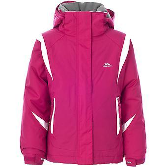 突袭女孩瓦内塔防水填充微羊毛衬里滑雪夹克