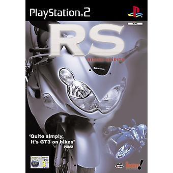 Riding Spirits (PS2) - Nieuwe fabriek verzegeld